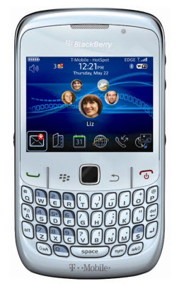 Blackberry 8520 color blanco