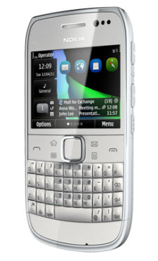 Nokia E6 Telcel color blanco