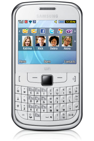 Samsung Chat 322 color blanco