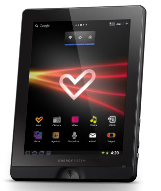 Energy tablet i828 HD