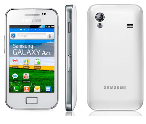 Samsung Galaxy Ace Telcel color blanco