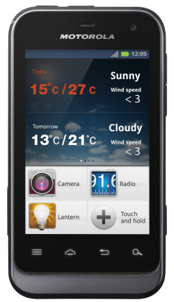Motorola defy mini XT320 entel