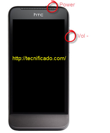 Hard reset HTC One V
