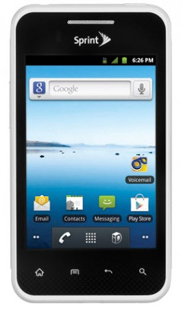 Hard reset LG Optimus Elite S696