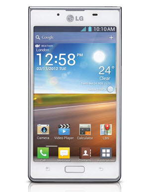LG Optimus L7 P708 Telcel color blanco