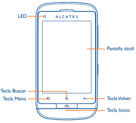 Manual Alcatel One touch 918