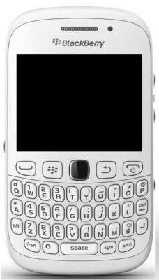 Blackberry curve 9220 color blanco Telcel