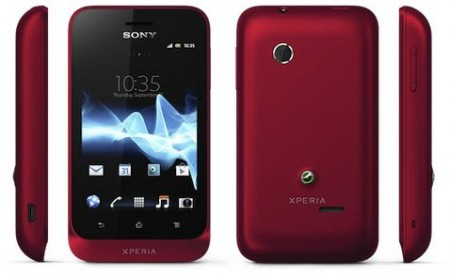 Xperia tipo color rojo