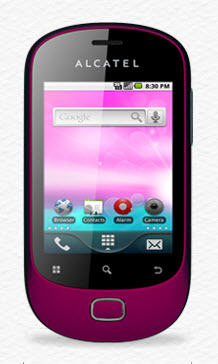 OT-908 alcatel hard reset