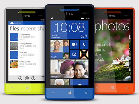 HTC windows phone 8S Telcel