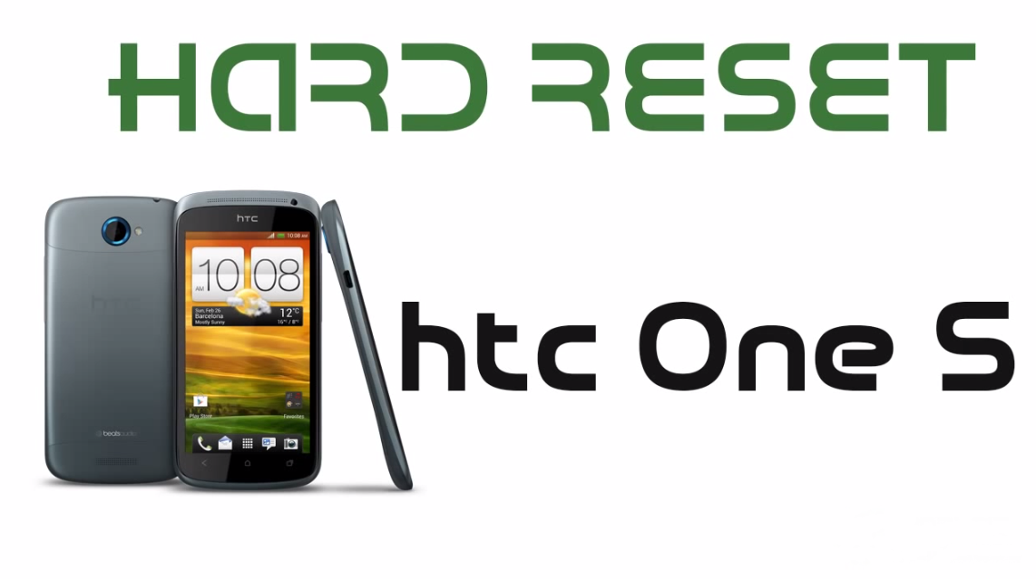 Hard Reset pra htc One S