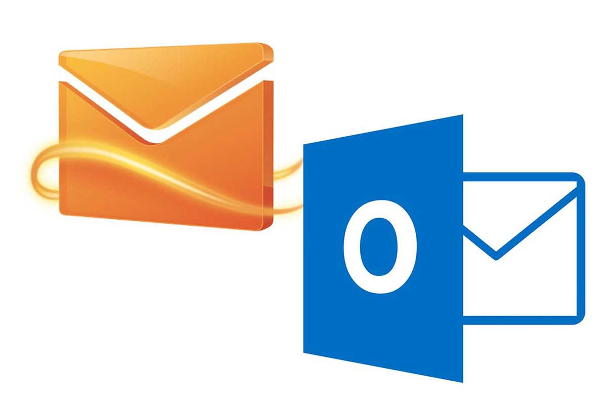 from Hotmail to Outlook