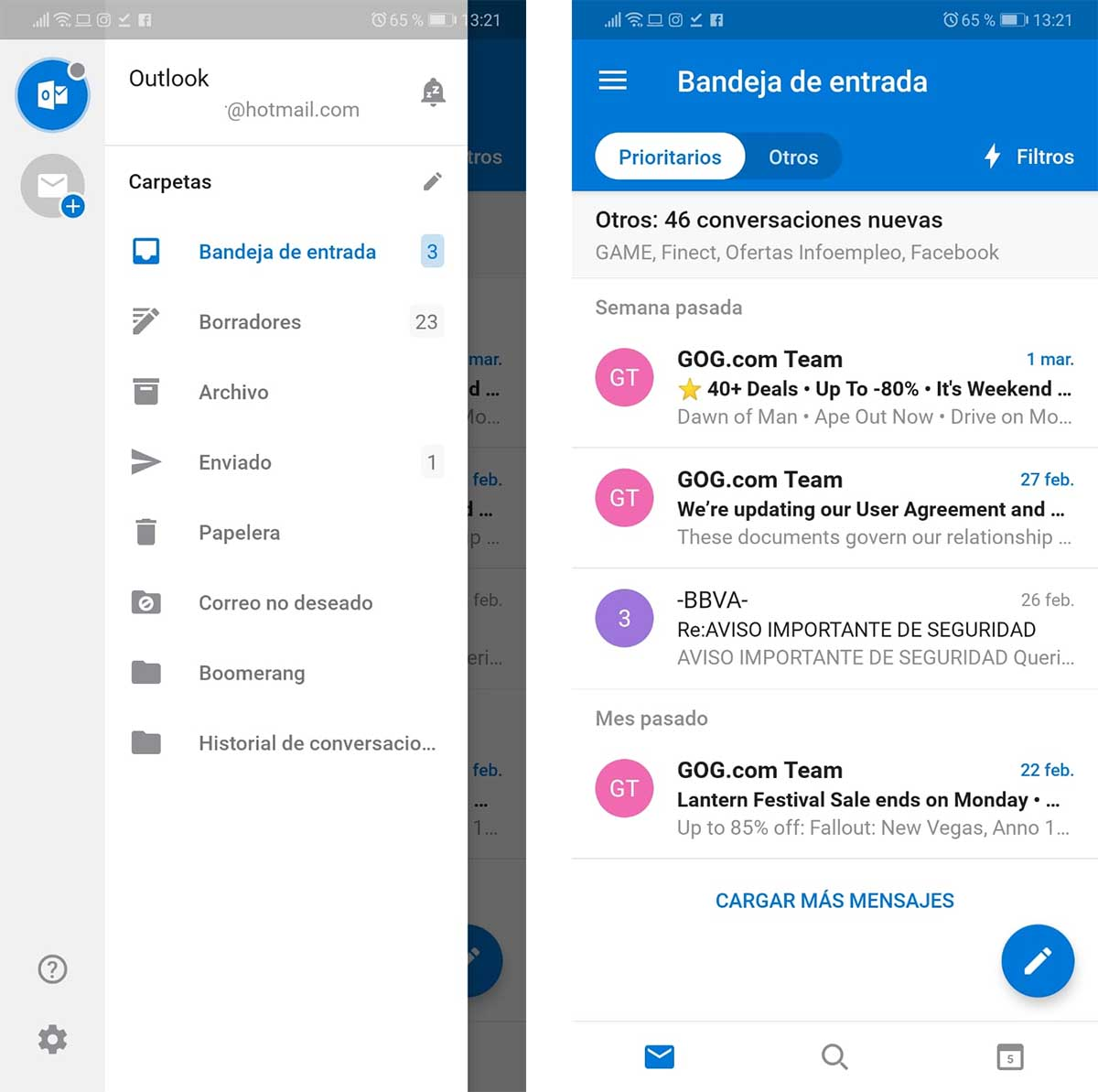 Sign in Hotmail in Microsoft Outlook