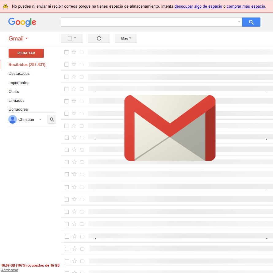 Image result for quota storage gmail