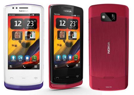 Nokia 700 colores