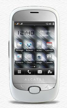 Alcatel OT-905 Chrome Telcel