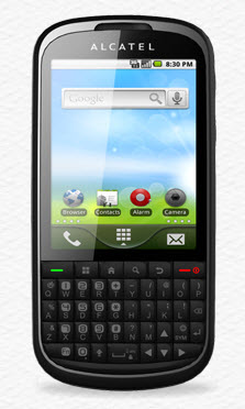 Alcatel OT-910 Telcel