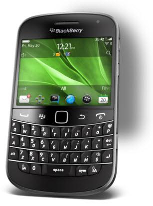 Blackberry bold 9900 Telcel
