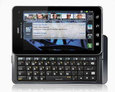 Motorola Milestone 3