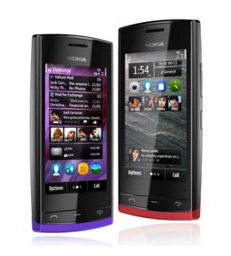 Nokia 500 Telcel Color rojo