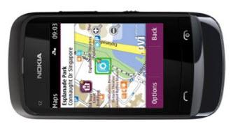 Nokia C2-02 maps