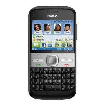 Nokia E5 negro
