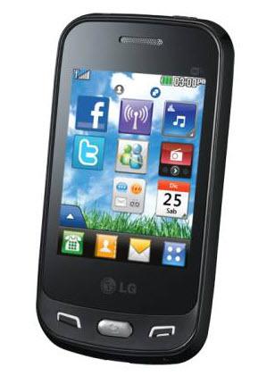 LG T565 negro telcel