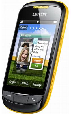 Samsung Frappe S3850 Unefon