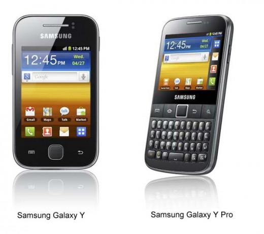 Samsung Galaxy Y & Galaxy Y Pro Telcel