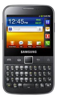 Samsung Galaxy Y Pro Telcel
