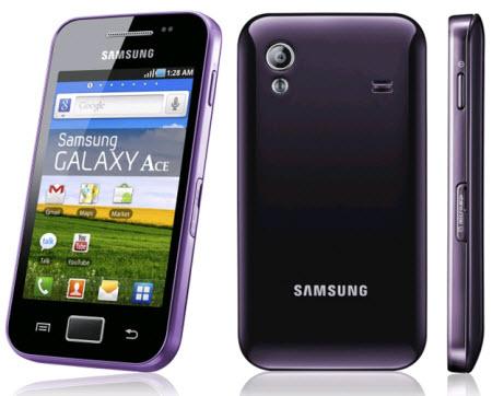 Galaxy Ace Moroado Telcel