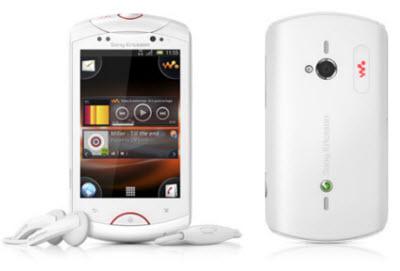 Sony ericsson live con walkman blanco