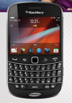 Blackberry bold 9900 Iusacell