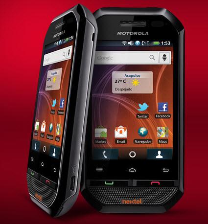 Motorola i867 Nextel México