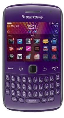 Blackberry curve 9360 Morado Telcel