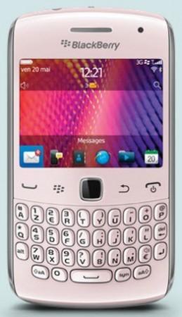 Blackberry curve 9360 rosa Telcel
