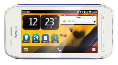 Nokia 603 Blanco Telcel