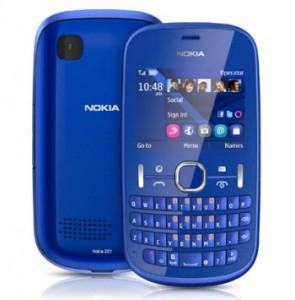 Nokia Asha 201 azul unefon