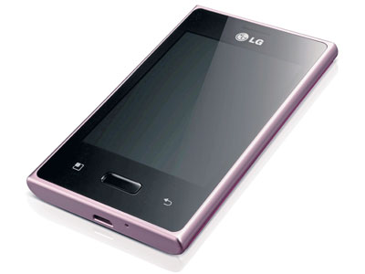 LG Optimus L3 E400 color rosa