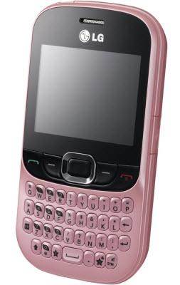 LG connect c365 rosa