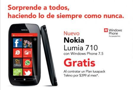 Nokia Lumia 710 IUSACELL