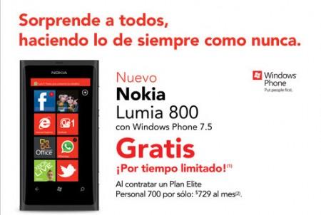Nokia Lumia 800 iusacell