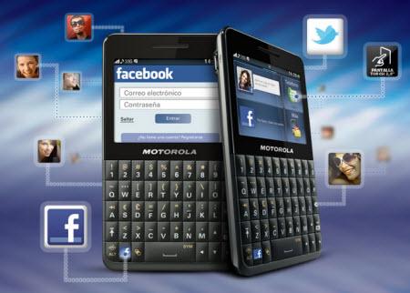 Motokey social EX225 telcel