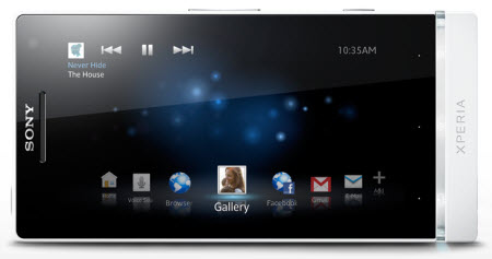 Xperia S Telcel color blanco