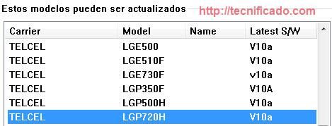 LG P720h actualización telcel