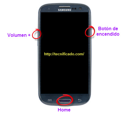 Hard reset Samsung Galaxy SIII SGH-I747
