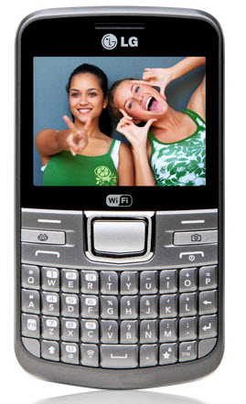 LG C205 Text it shot Telcel color plata