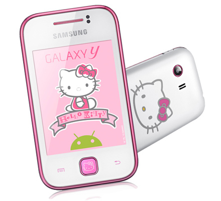 Samsung Galaxy Y hello kitty Telcel