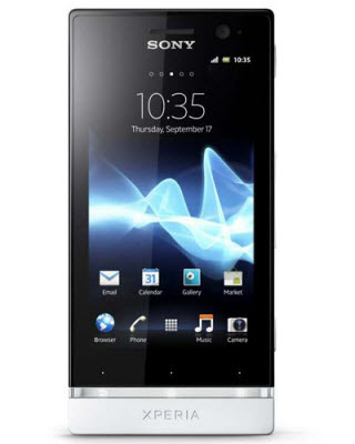 Sony Xperia U Entel color blanco