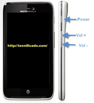 Hard reset Motorola Atrix HD